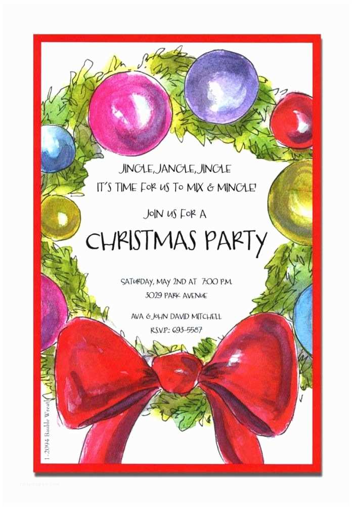 Christmas Party Invitation Wording Religious Invitations Impressive Christmas Party