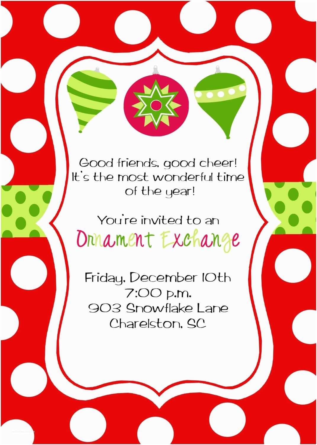 Christmas Party Invitations Christmas Party Invitations