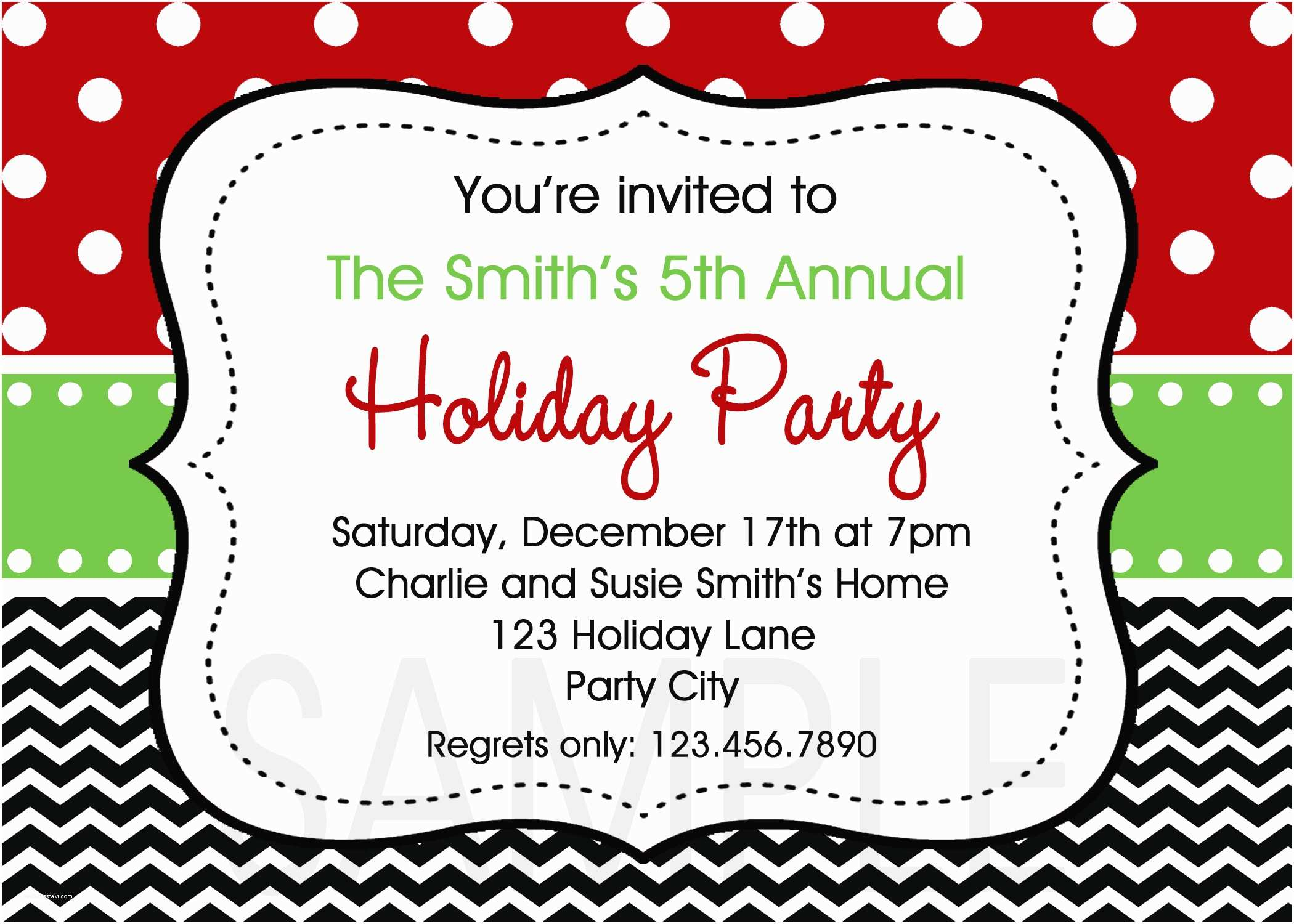 Christmas Party Invitations Free Christmas Party Invitation Templates