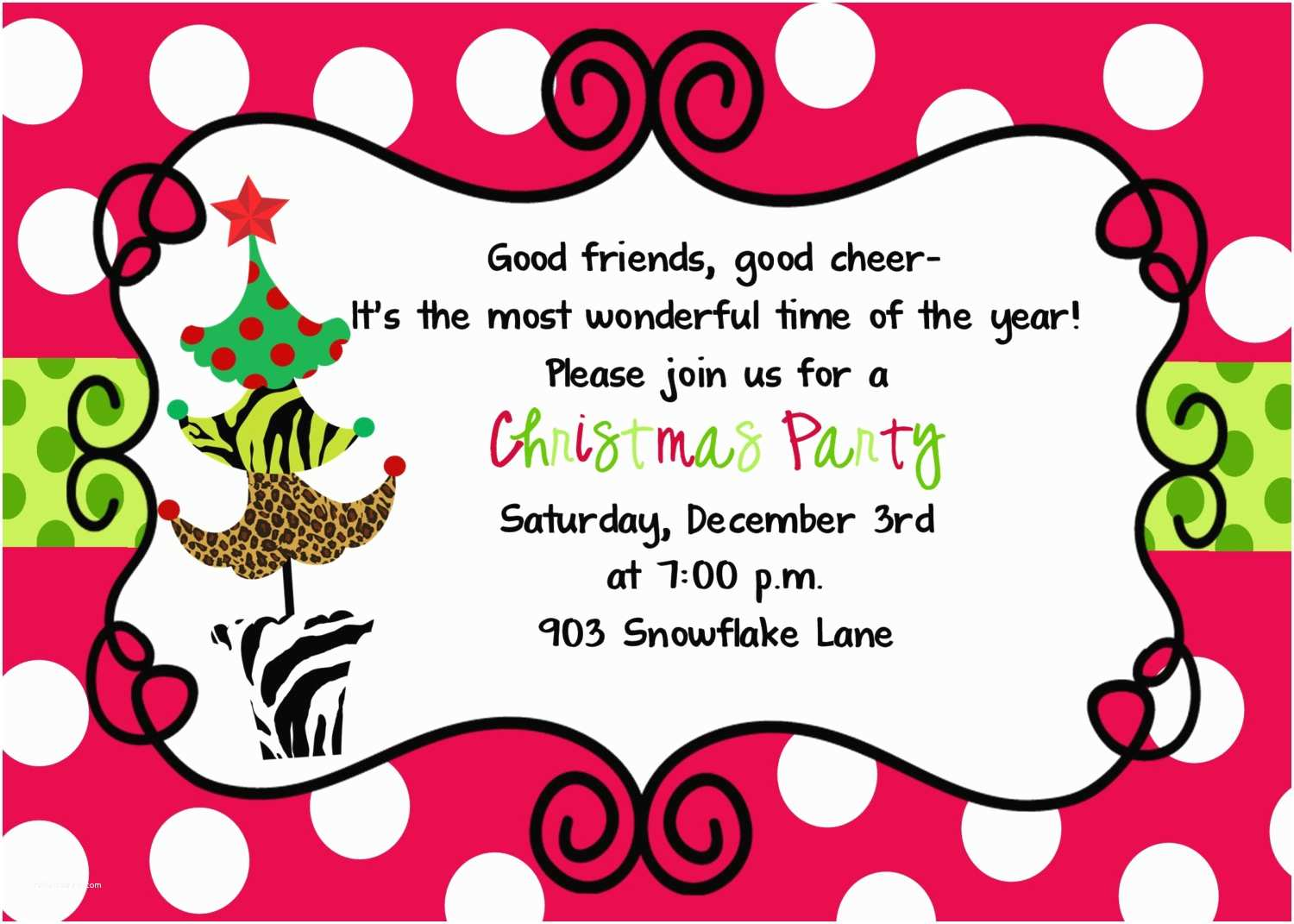 Christmas Party Invitations How to Create Best Christmas Holiday Invitations