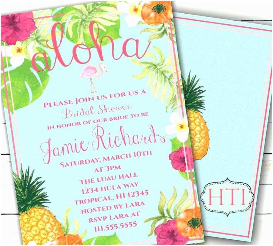 Christmas themed Wedding Shower Invitations Unique Hawaiian Invitation Templates Free Luau