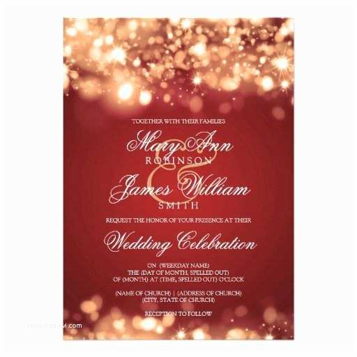 christmas wedding invitations christmas wedding invitations red
