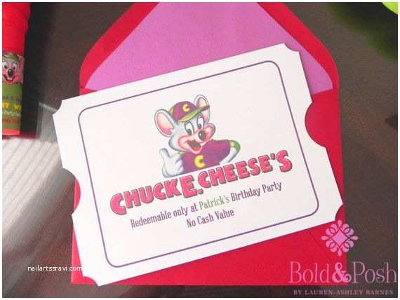 Chuck E Cheese Birthday Invitations Chuck E Cheese Birthday Invitation