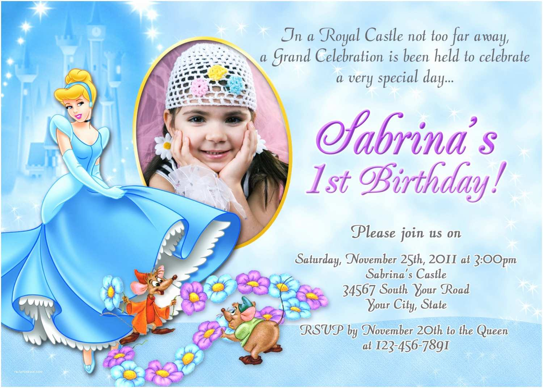 Cinderella Birthday Invitations Cinderella Birthday Invitation Diy You Print by