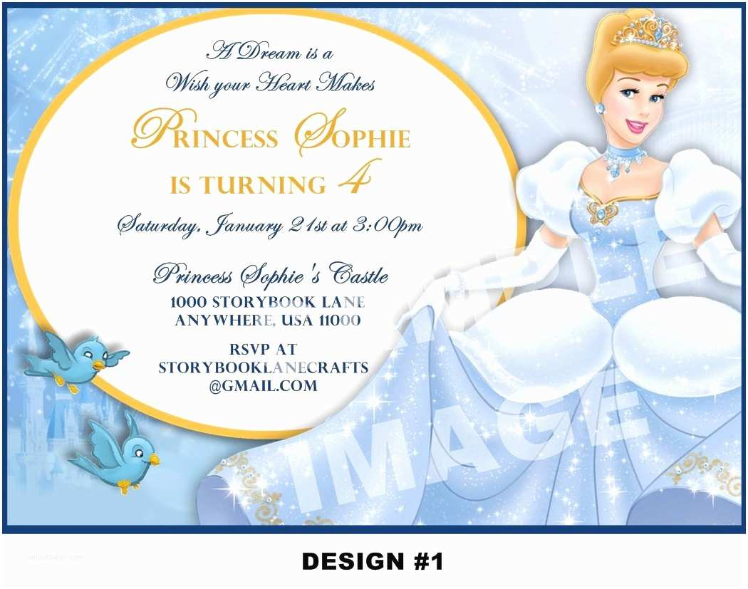 Cinderella Birthday Invitations Cinderella Birthday Invitation Wording