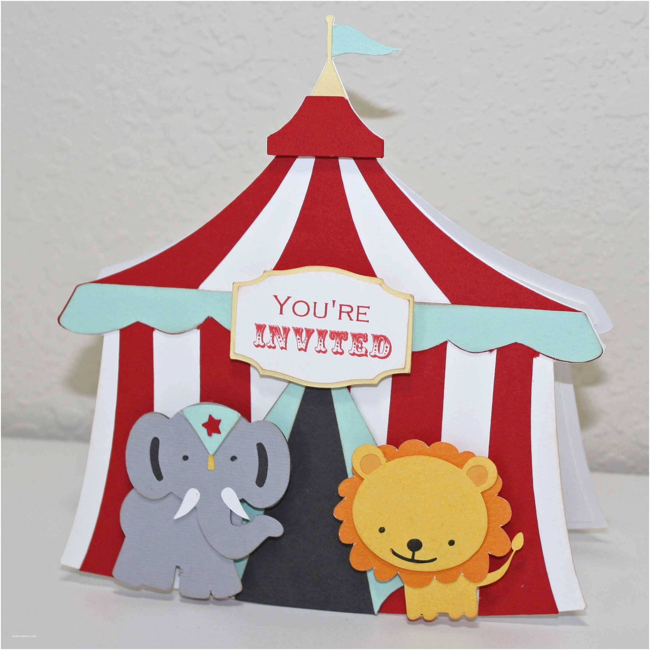 Circus Party Invitations Circus Party Invitations