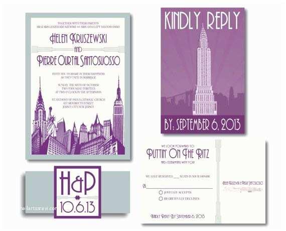 Cityscape Wedding Invitations 63 Best New York Wedding theme Images On Pinterest