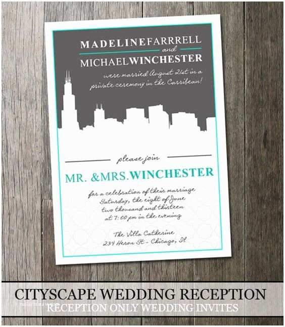 Cityscape Wedding Invitations City Scapes Destination Weddings and Receptions On Pinterest