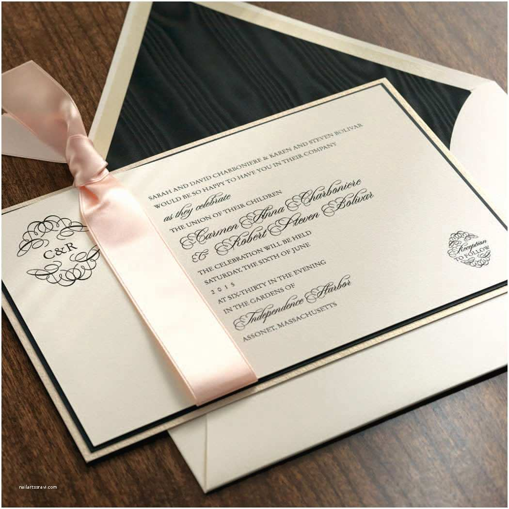Classic Black and White Wedding Invitations Classic Wedding Invitations Classic Wedding Invitations