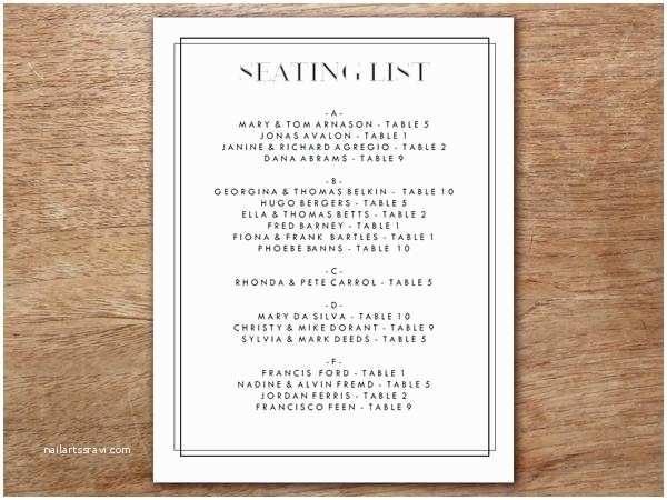 Classic Black and White Wedding Invitations Printable Wedding Invitation Kit Classic Black and White