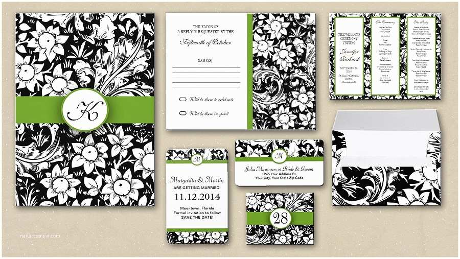 Classic Black and White Wedding Invitations Read More – Black and White Classic Wedding Invitation