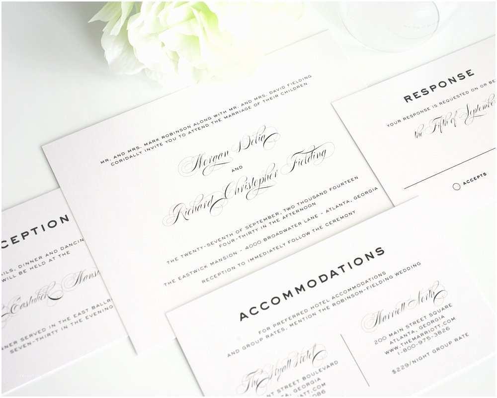 Classic Wedding Invitations Classic Vintage Wedding Invitations Wedding Invitations