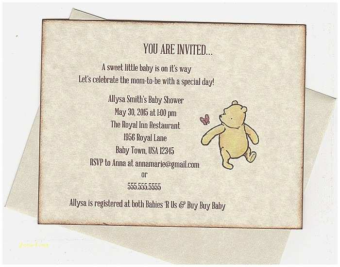 photo relating to Printable Winnie the Pooh Baby Shower Invitations called Clic Winnie the Pooh Child Shower Invites Kid Shower