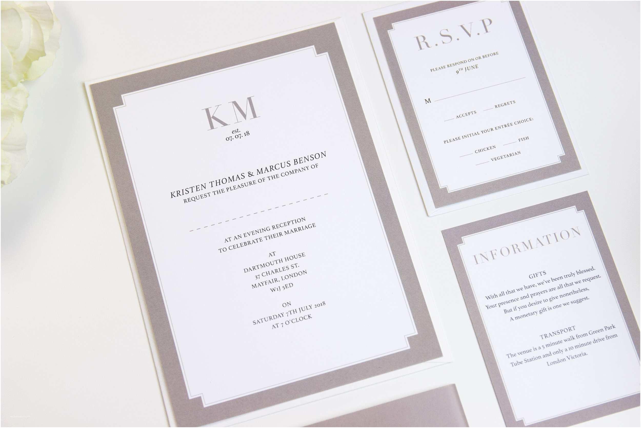 Classy Wedding Invitations Free Elegant Wedding Invitation Borders Matik for