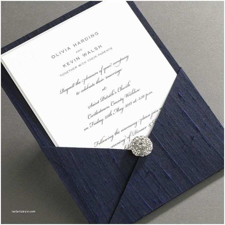 Classy Wedding Invitations Ireland Luxury Thai Silk Pocket Wedding Invitations Taken