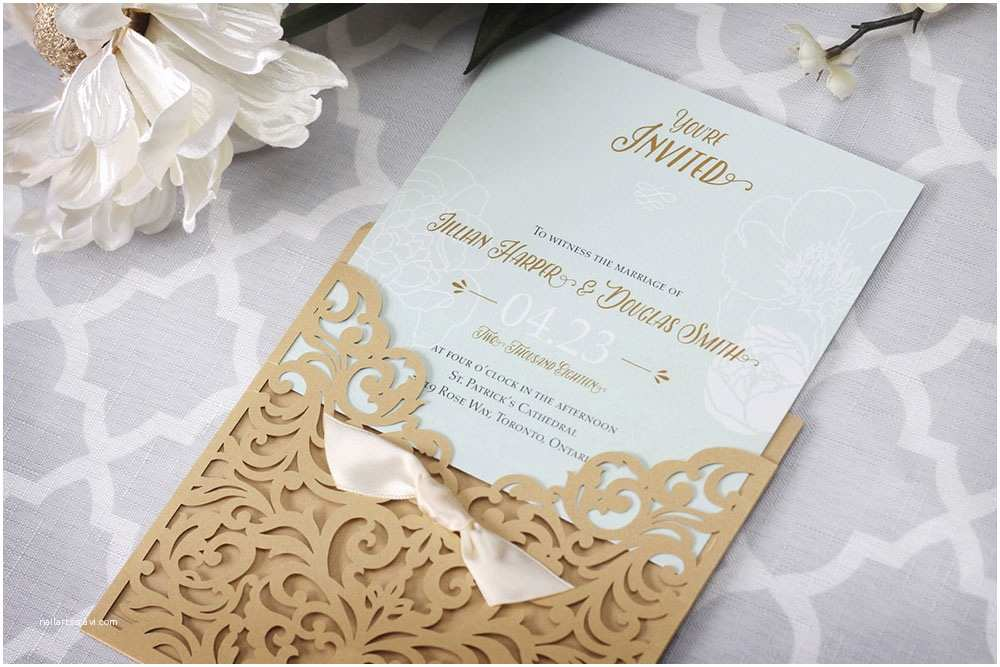 Classy Wedding Invitations Vintage Wedding themes Show Elegant Impression Around It