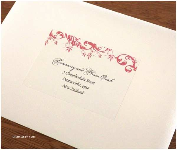 Clear Address Labels For Wedding Invitations Address Labels For Wedding Invitation