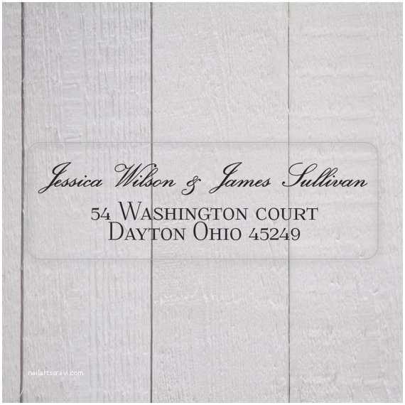 Clear Address Labels For Wedding Invitations Il 570xn