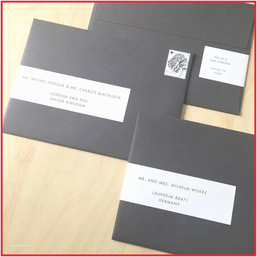 Address Labels For Wedding Invitations Wedding Invitation Address Labels Stunning