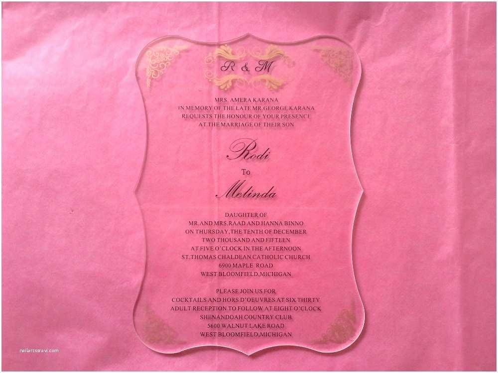 Clear Plastic Wedding Invitations Aliexpress Buy Sample order Of Royal Scroll Shape