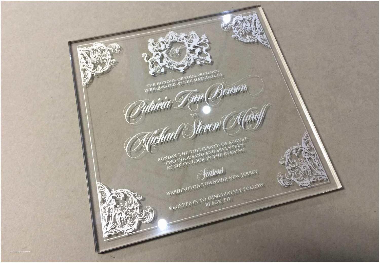 Clear Plastic Wedding Invitations Clear Wedding Invitations Yourweek 6f6c5eeca25e