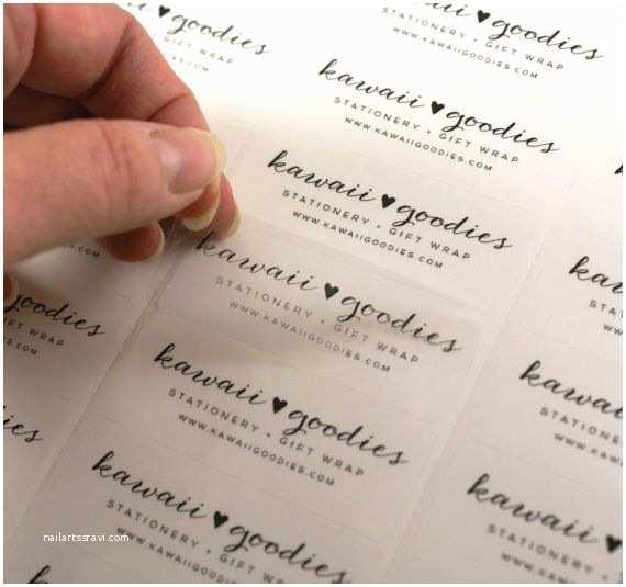 Clear Return Address Labels for Wedding Invitations Custom Print Clear Address Labels 2 5 8 X 1 Transparent