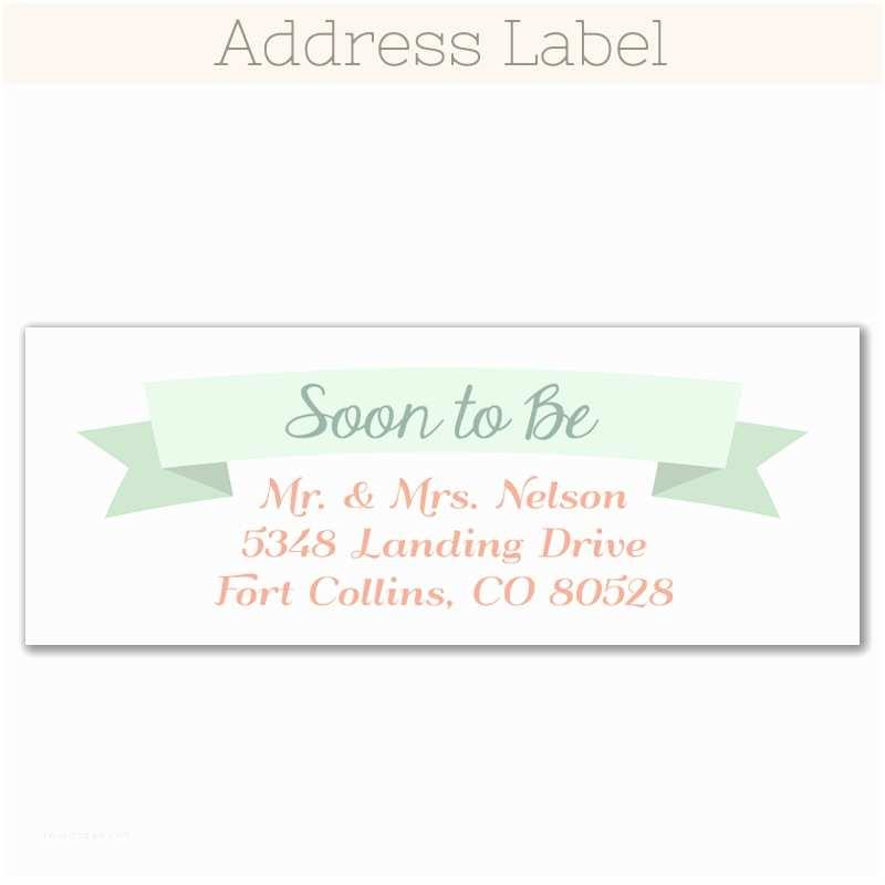 Clear Return Address Labels For Wedding Invitations Floral Wreath Rustic Save  Date Magnet Funflip