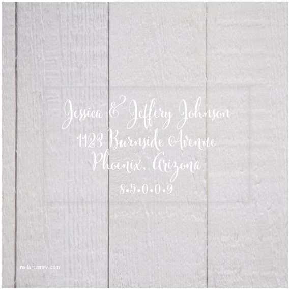 Clear Return Address Labels for Wedding Invitations Wedding Invitation Return Address Labels Clear Wedding