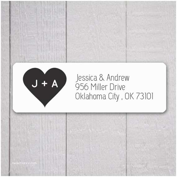 Clear Return Address Labels for Wedding Invitations Wedding Invitation Return Address Labels Wedding Stickers