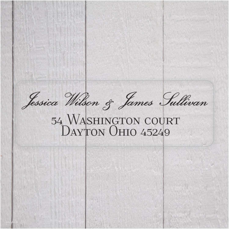 Clear Return Address Labels For Wedding Invitations Wedding Invitation Return Address Labels White