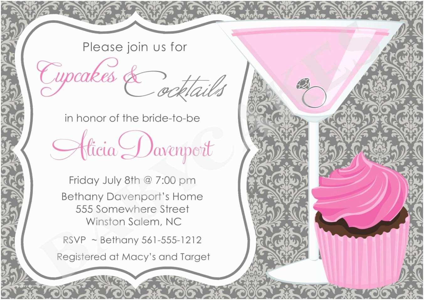 Cocktail Party Invitation Cocktail Party Invitation Card Template