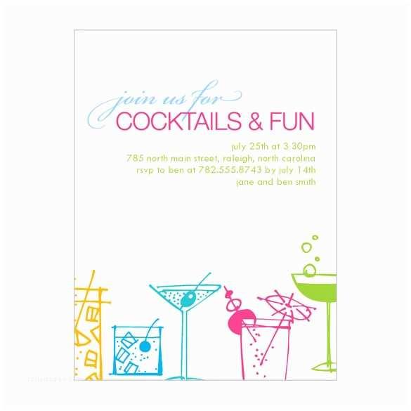 Cocktail Party Invitations Cocktail Invitation Template Invitation Template
