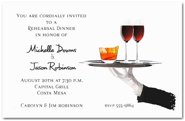 Cocktail Party Invitations Examples Of Wedding Invitations