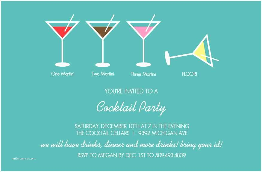 Cocktail Wedding Invitations Cocktail Party Invitations