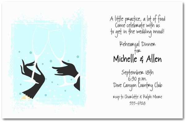 Cocktail Wedding Invitations Examples Of Wedding Invitations