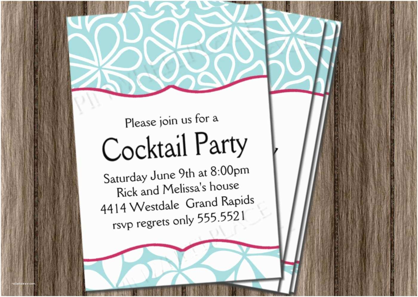 Cocktail Wedding Invitations Invitation Wording for Cocktail Party Mickey Mouse