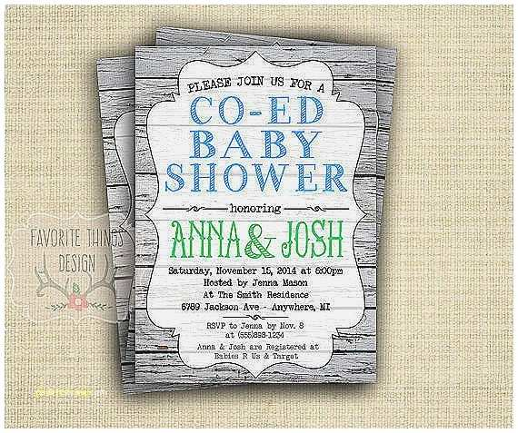 Coed Baby Shower Invitation Wording Baby Shower Invitation Unique Co Ed Baby Shower