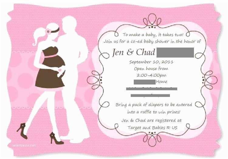 Coed Baby Shower Invitations Coed Baby Shower Invites