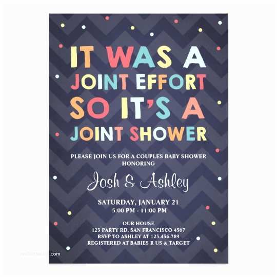 Coed Baby Shower Invitations Couples Baby Shower Invitation Coed Shower Joint