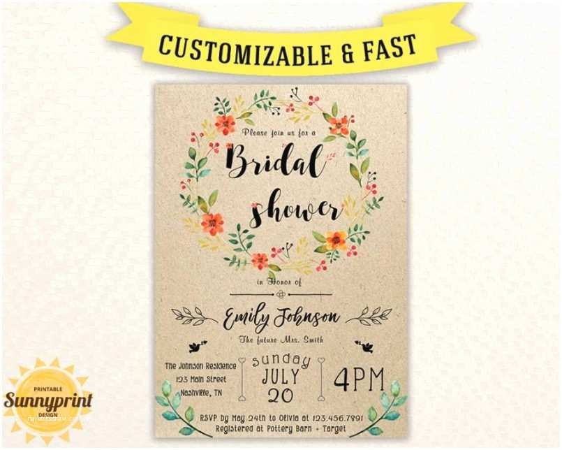 photo about Bridal Shower Invitations Free Printable known as Coed Marriage ceremony Shower Invites No cost Bridal Shower