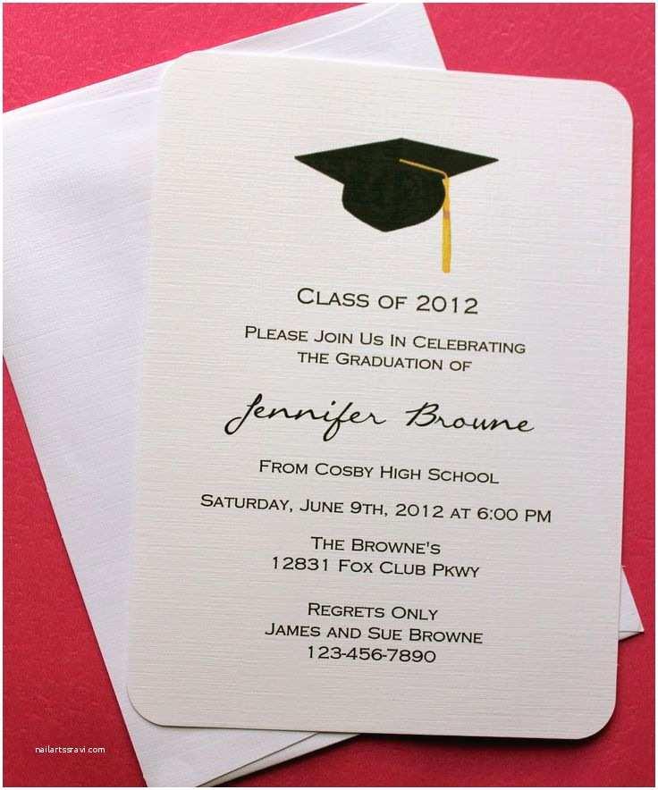 College Graduation Invitation Templates 25 Best Ideas About Graduation Invitations On Pinterest