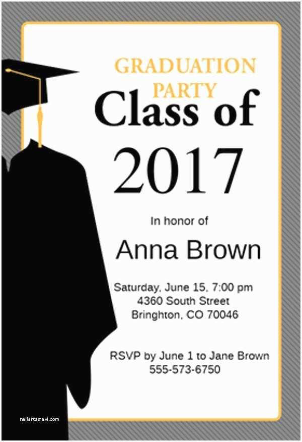 College Graduation Invitation Templates 9 Graduation Menu Templates Psd Vector Eps Ai