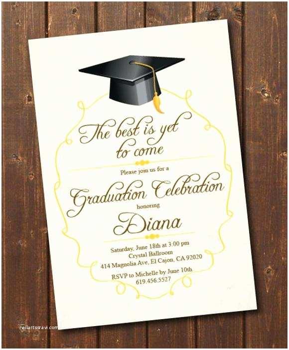 College Graduation Invitation Templates Awesome Graduation Announcement Cards Templates College