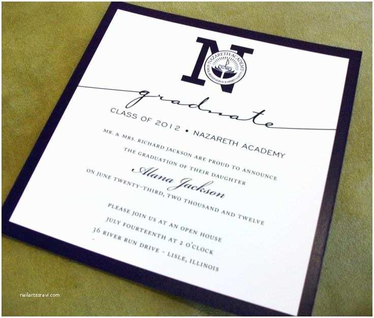 College Graduation Invitation Templates Best 25 College Grad Invites Ideas On Pinterest