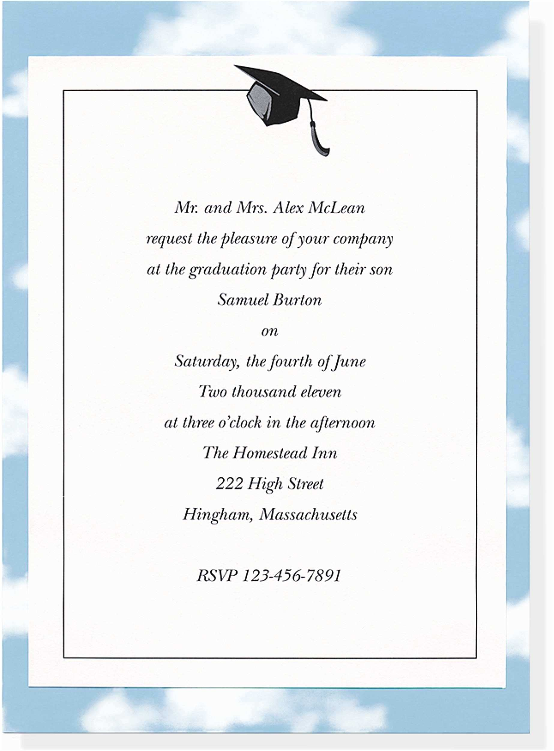 College Graduation Invitation Templates Sample Invitations for Graduation Brown Wedding and