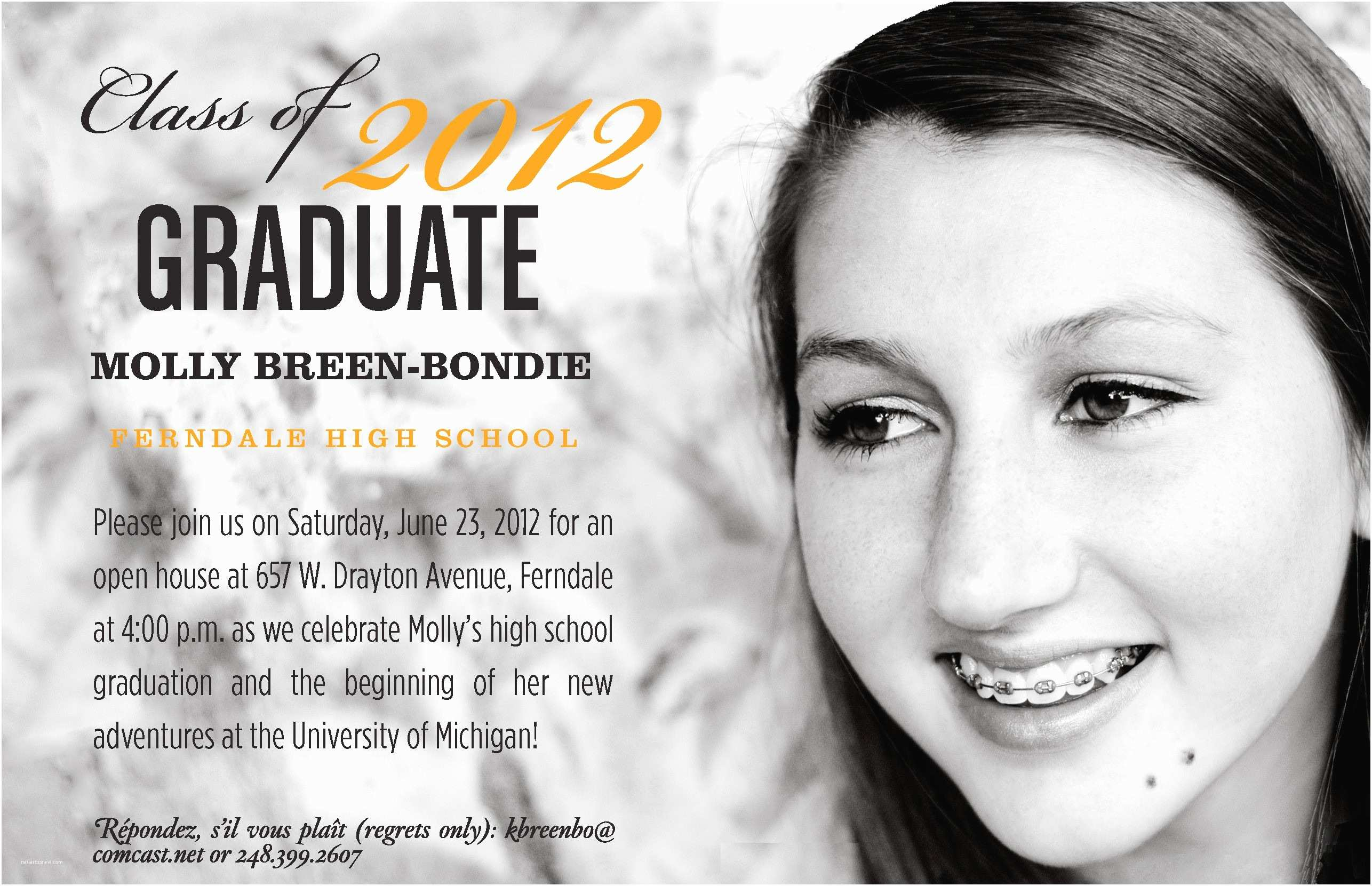 College Graduation Invitation Wording High School Graduation Invitation Wording