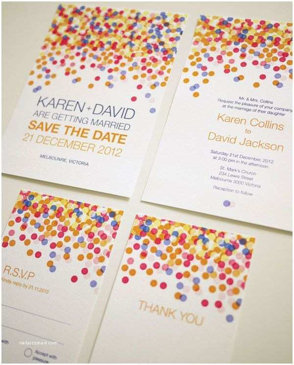 Colorful Wedding Invitations 17 Best Ideas About Colorful Wedding Invitations On