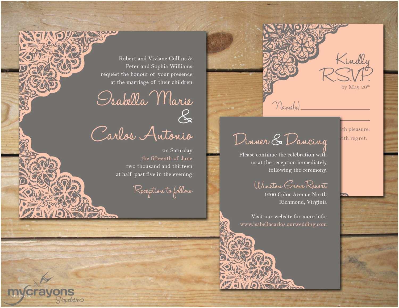Colorful Wedding Invitations Jar themed Printable Wedding Invitations with White