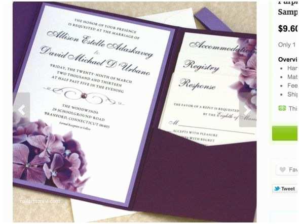 Colorful Wedding Invitations Plum Colored Wedding Invitations
