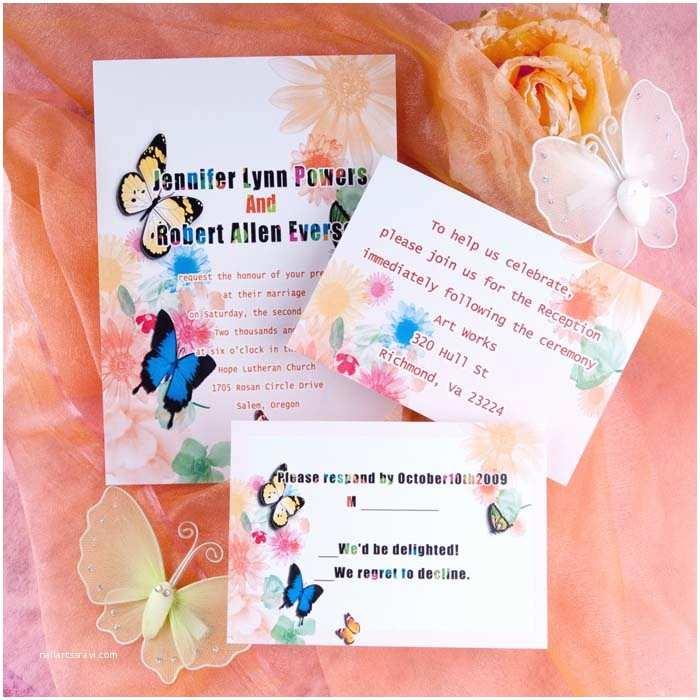Colorful Wedding Invitations top 4 Diy Wedding Ideas and Wedding Invitations